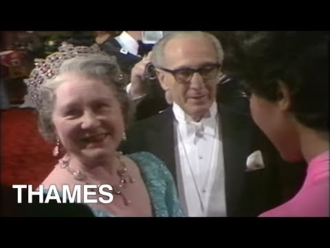 Queen Mother | Princess Margaret | British Royalty | Royal Film premier| 1972