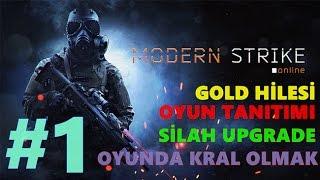 Modern Strike Online - GOLD HİLESİ !!! Oyun Tanıtımı #1