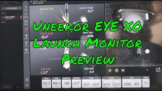 Uneekor EYE XO Launch Monitor Preview from PGA Merchandise Show 2020
