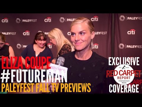 Eliza Coupe ed at the Hulu series 'Future Man' p at PaleyFest