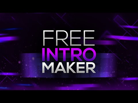 How to Make an Intro for YouTube Videos FOR FREE! No Software/Programs Needed! (2016/2017)