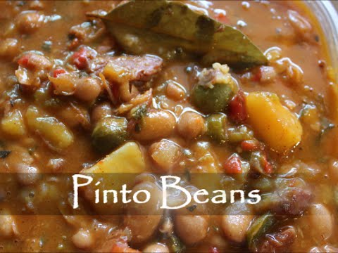 Beans - How to Make Pinto Beans Recipe [Episode 120]