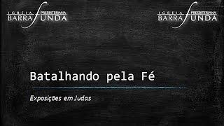 Exposição em Judas 1:1-4 - Parte 1 - Pr. Jonatas Miranda