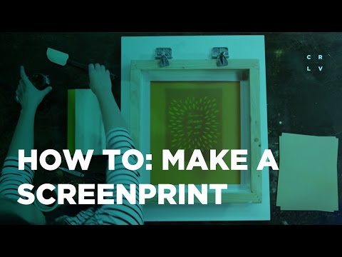 The Art of Screen Printing