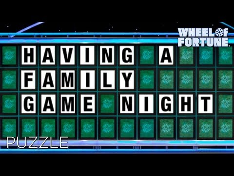 Puzzle wheel of fortune youtube