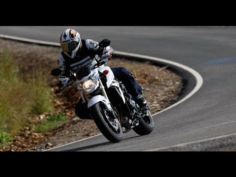 Suzuki GSR 750 - Sound, Action und Test