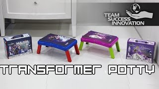 Transformer potty 4in1