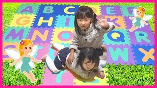 ABC Song Learn English Alphabet for Children with Yume & Rena | ABC Song Nursery Rhymes for kids