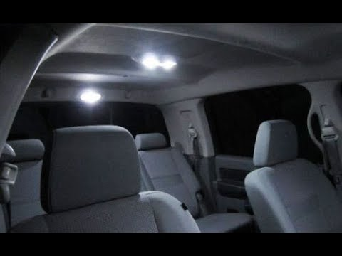 2006 Dodge Ram 2500 Megacab LED Linterior Lights Install