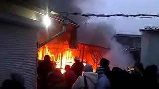 Запоріжжя 20.12.2017 пожежа на ринку