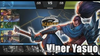 Video [NB/CF] TLA (Viper Yasuo) VS OPTA (Palafox Cassiopeia) Highlights - 2018 NA Academy Spring W9 download MP3, 3GP, MP4, WEBM, AVI, FLV Agustus 2018