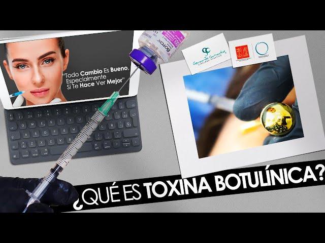 ¿Qué es la Toxina Botulínica o Botox?  Bogotá - Colombia