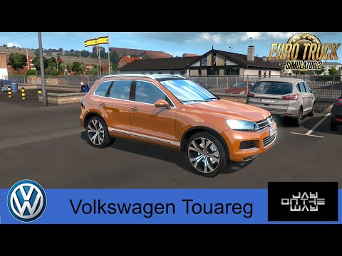 🚗 Volkswagen Touareg для Eurotruck Simulator 2 Неплохой автомобиль !