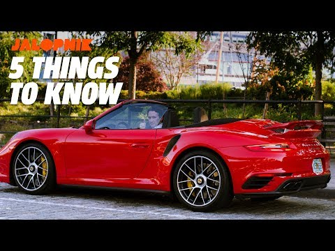 2018 Porsche 911 Turbo S Cabriolet   5 Things To Know