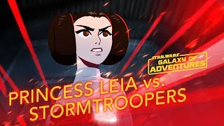 Princess Leia - The Rescue | Star Wars Galaxy of Adventures