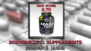 muscle tech mass tech advanced mass gainer review   design for hardgainers