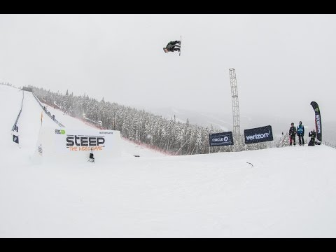 Men's Slopestyle Jump Best Run Video Highlights – Dew Tour 2016