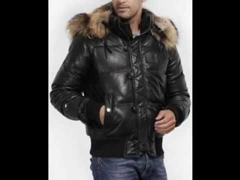 Купить кожаную меховую куртку.