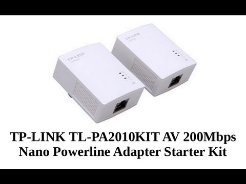 TP-Link TL-PA2010KIT v1 Powerline New