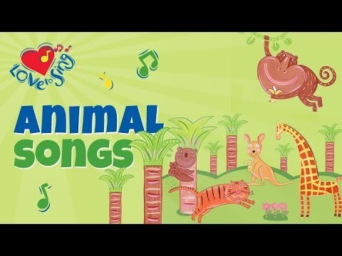 We're Going to the Zoo with Lyrics | Kids Action Songs | Children Love to Sing