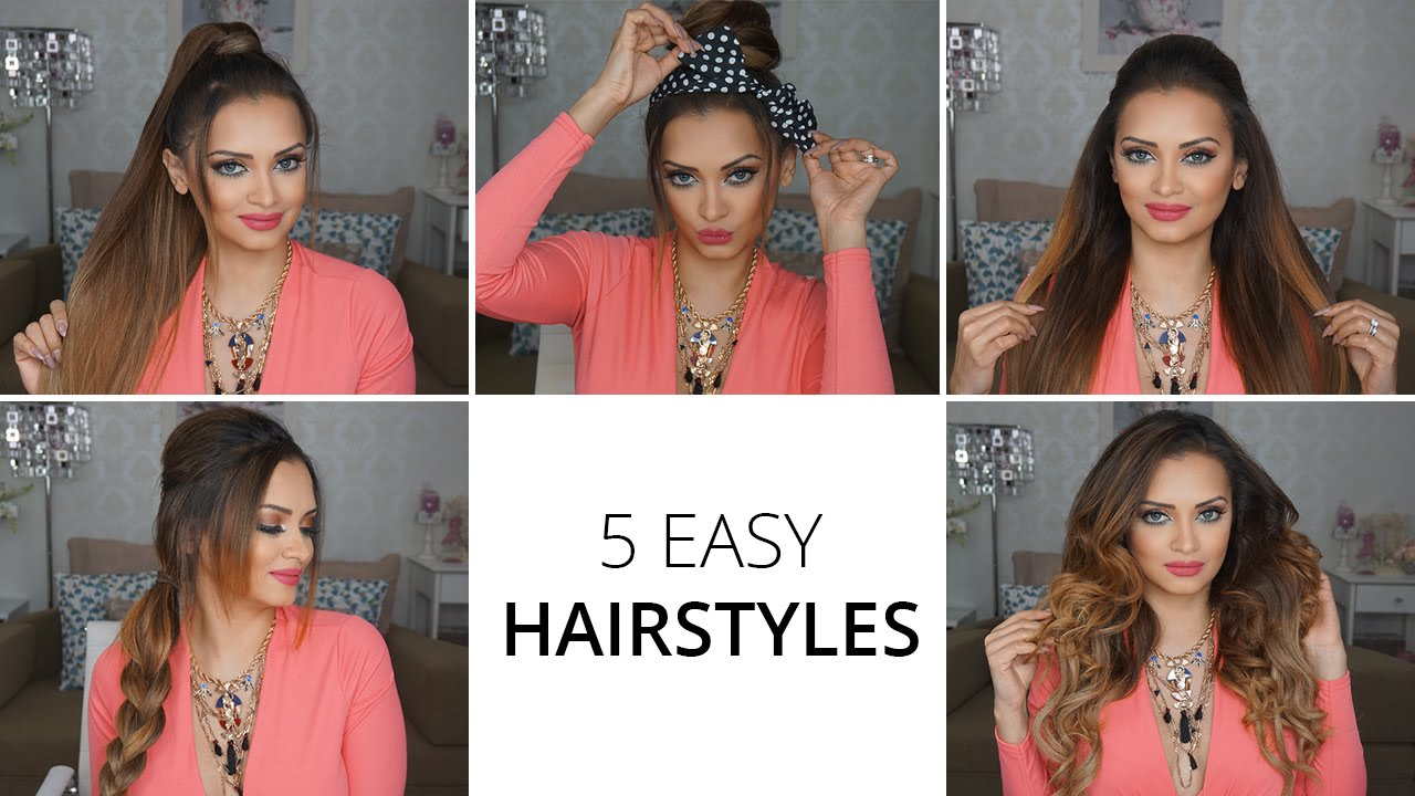 5 Easy Hairstyles Using Lockstress Hair Extensions