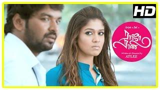 Jai Proposes Nayanthara | Raja Rani Tamil Movie Scenes | Arya | Nazriya | Sathyan | Sathyaraj