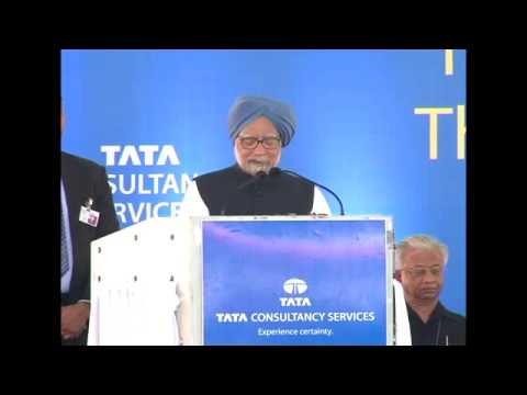Prime Minister laying foundation stone of TCS Global Learning Centre in Thiruvananthapuram