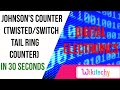 Johnson's Counter (Twisted/Switch Tail Ring Counter) | digital electronics | wikitechy.com