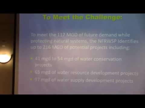 Staff presentation --Mike Register, SJRWMD