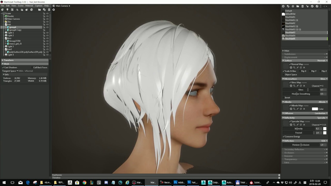 Texturing hair - what is it 92