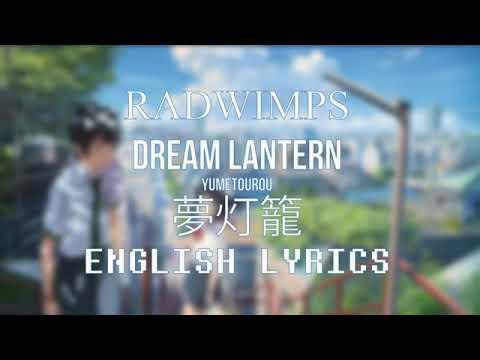Your name (kimi no na wa) radwimps original english song