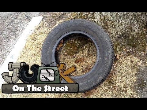 Goodyear Regatta Tire Junk On The Street