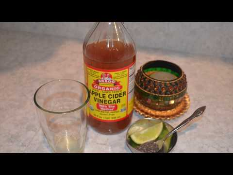 skin-brightening-morning-drink-in-tamil-/-apple-cider-vinegar,chia-seeds-and-lemon-drink