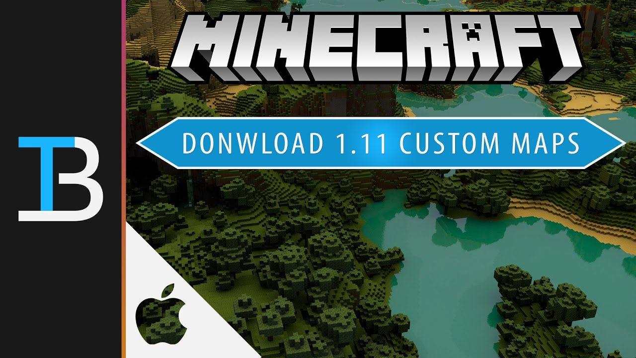 how to download maps on minecraft mac