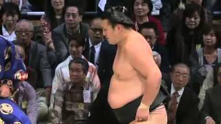 平成25年十一月場所3日目 遠藤3連敗 sumo 大相撲 九州場所.