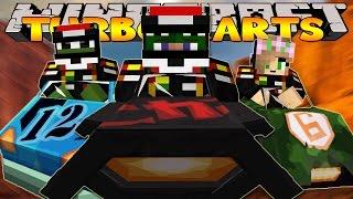 Minecraft : TURBO KART RACER CHAMPION!