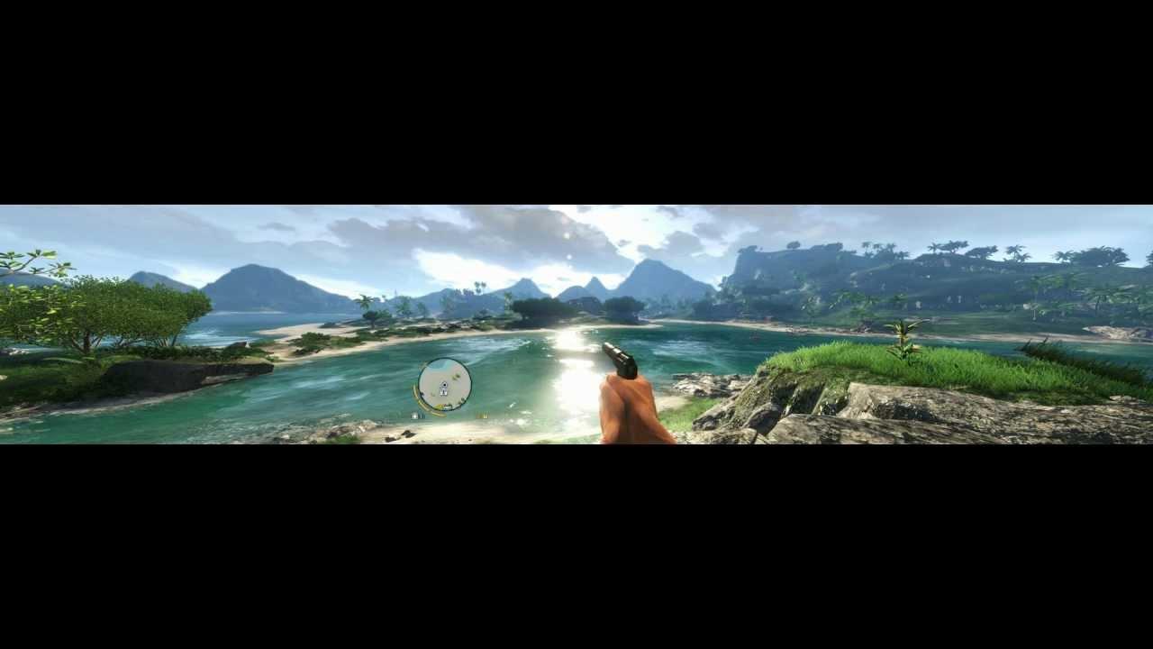 Far Cry 3 Part 1 (Triple Monitors / Eyefinity / Surround) [~4K]
