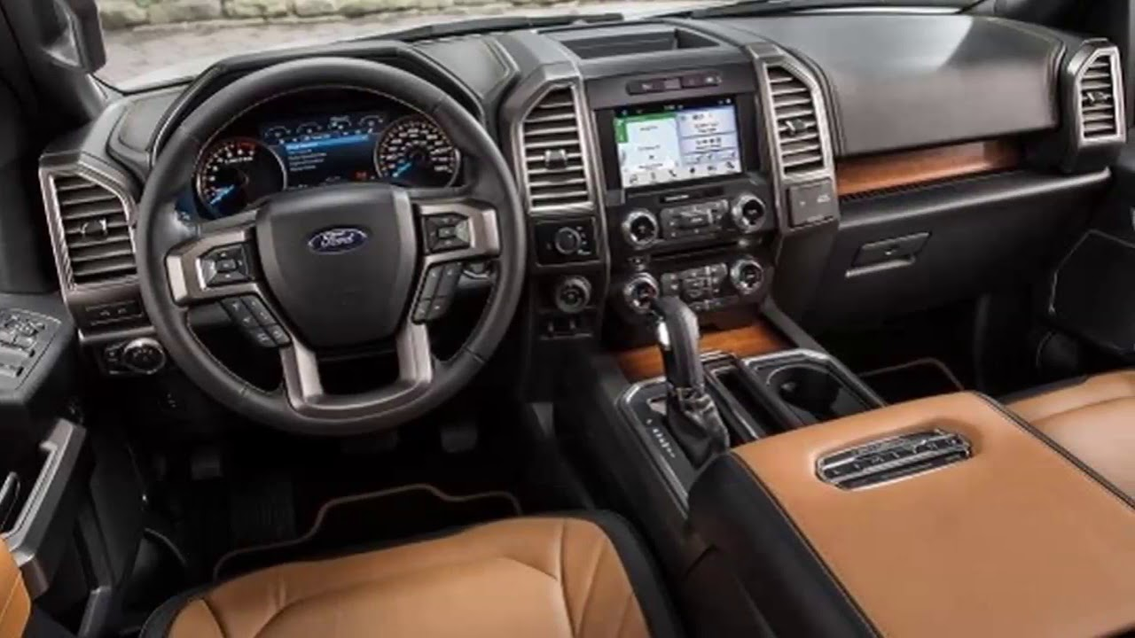 2018 Ford F 150 Interior Review
