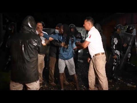 México disuelve la tercera caravana migrante en menos de una semana