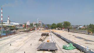 Масштабная дорожная стройка в Благовещенске - ремонт виадука по Загородной - близится к завершению