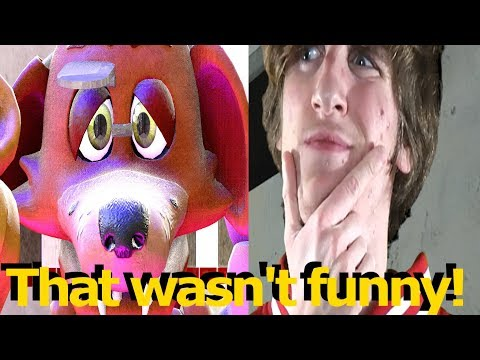 FNAF SFM Baby Foxy Hurt Feelings Five Nights at Freddy's Animation MiffedCrew Meets the Animatronics thumbnail