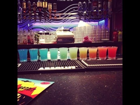 How to make the best Rainbow shots in the world