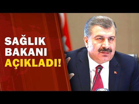 Sağlık Bakanı Fahrettin Koca Son 24 Saatin Koronavirüs Vaka Sayısını Açıkladı! / A Haber