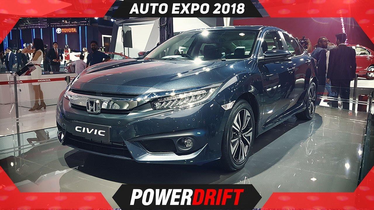 2018 Honda Civic Auto Expo A Legend Is Back Powerdrift Youtube