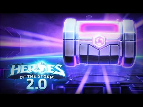 ♥ Heroes of the Storm 2.0 - Opening Loot Boxes!