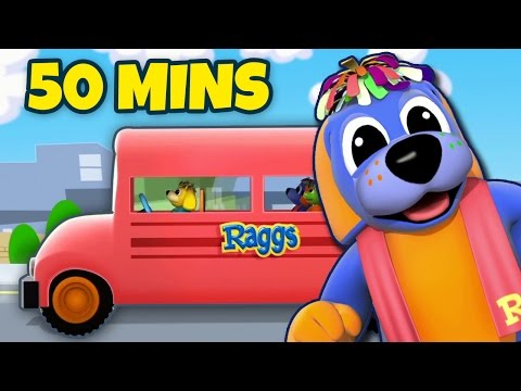 Wheels On The Bus | Nursery Rhyme | Plus Other Popular Nursery Rhymes Collection by RaggsTV
