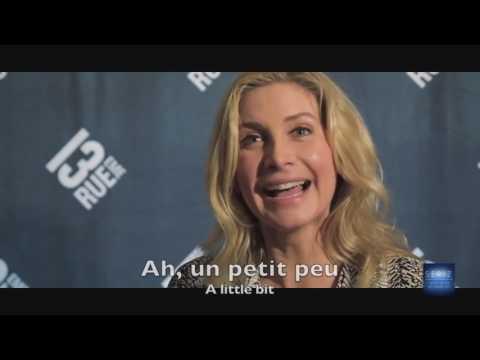Elizabeth Mitchell speaking french