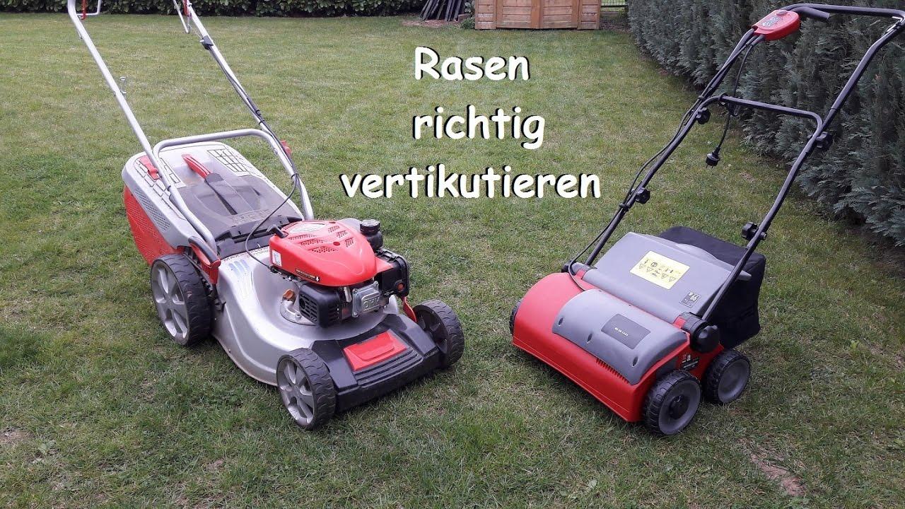 DIY Rasen Richtig Vertikutieren