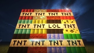 Minecraft SUPER TNT MOD