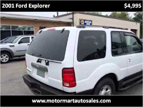 2001 Ford Explorer Used Cars South Attleboro MA